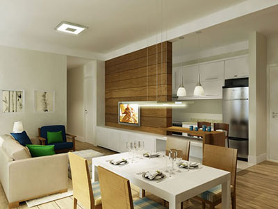 Dicas para deixar um apartamento pequeno funcional e moderno
