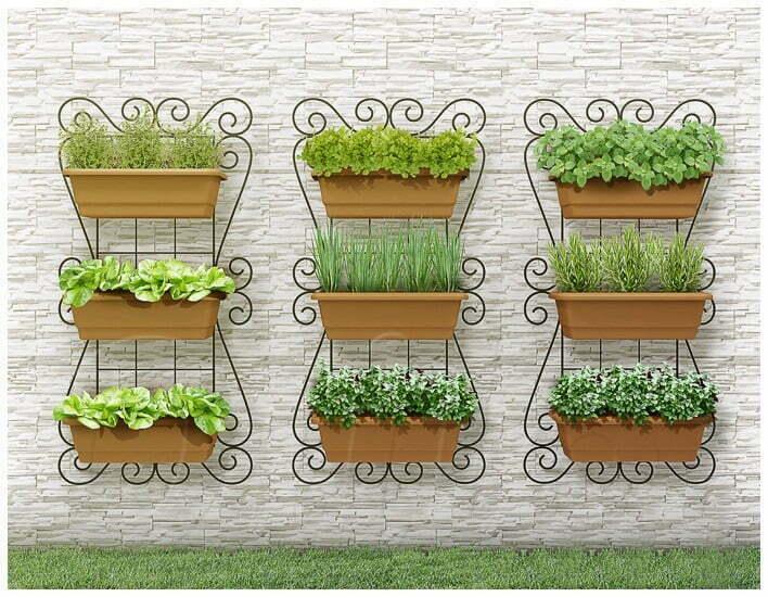 Horta indoor é uma opção para ambientes pequenos