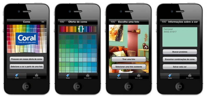 Dicas de aplicativos para smartphone que ajudam a decorar sua casa