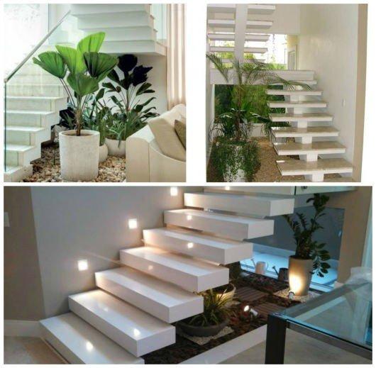 Jardim de Inverno no Quarto, Sala, Cozinha e Escada – Que Plantas Usar