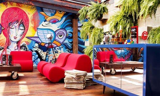 Decoração com Grafite em Residências